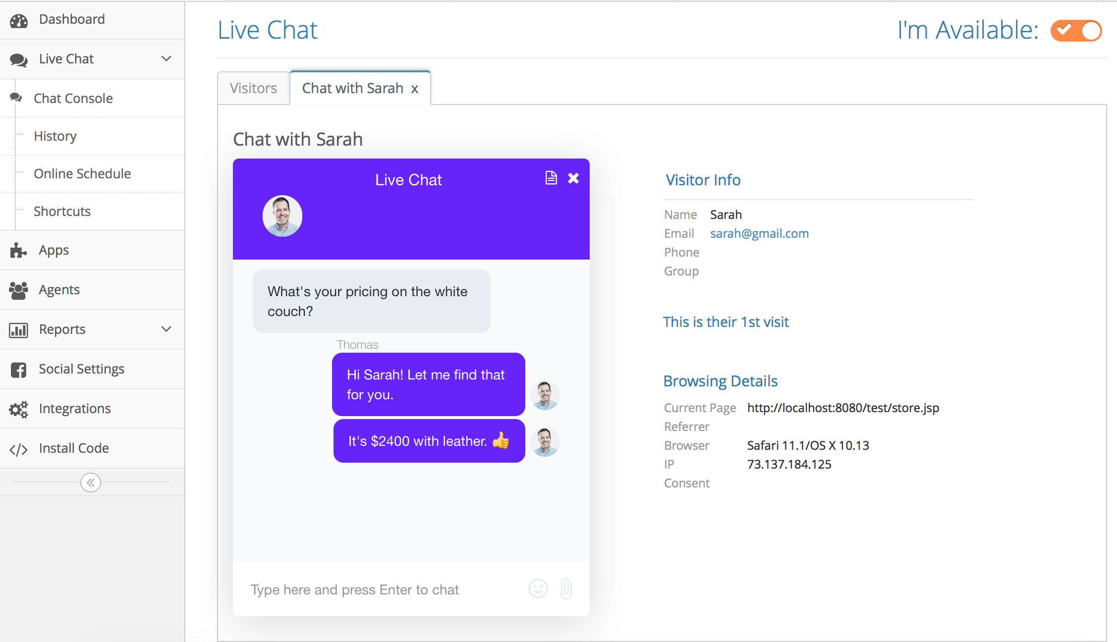 Shopify Live Chat | Live Chat for Shopify