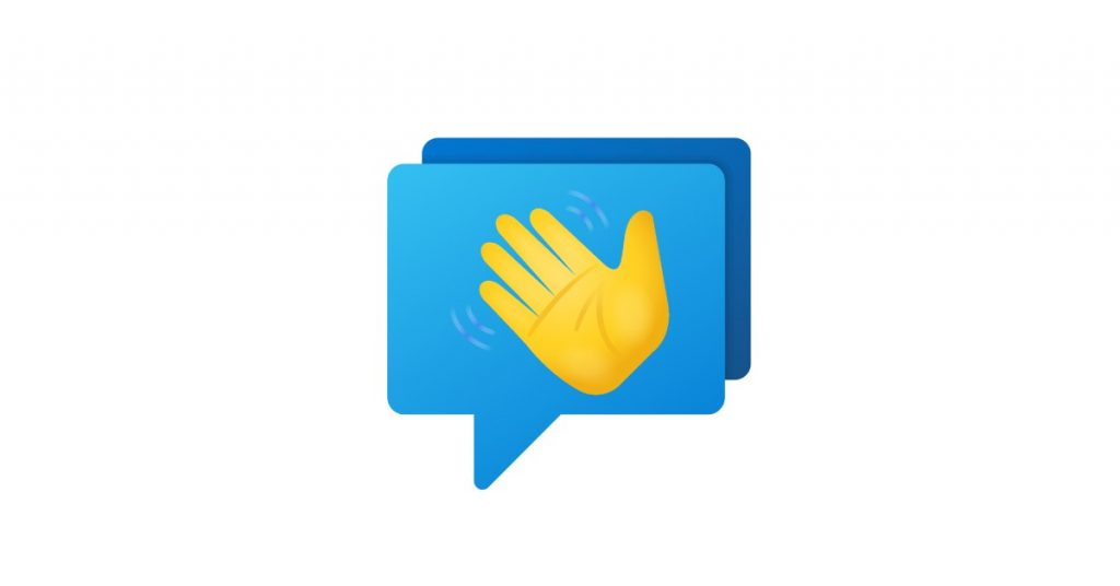 Live chat welcome message.